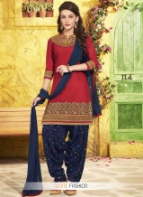 cotton-navy-blue-and-red-lace-work-designer-patiala-salwar-kameez-12813-800x1100